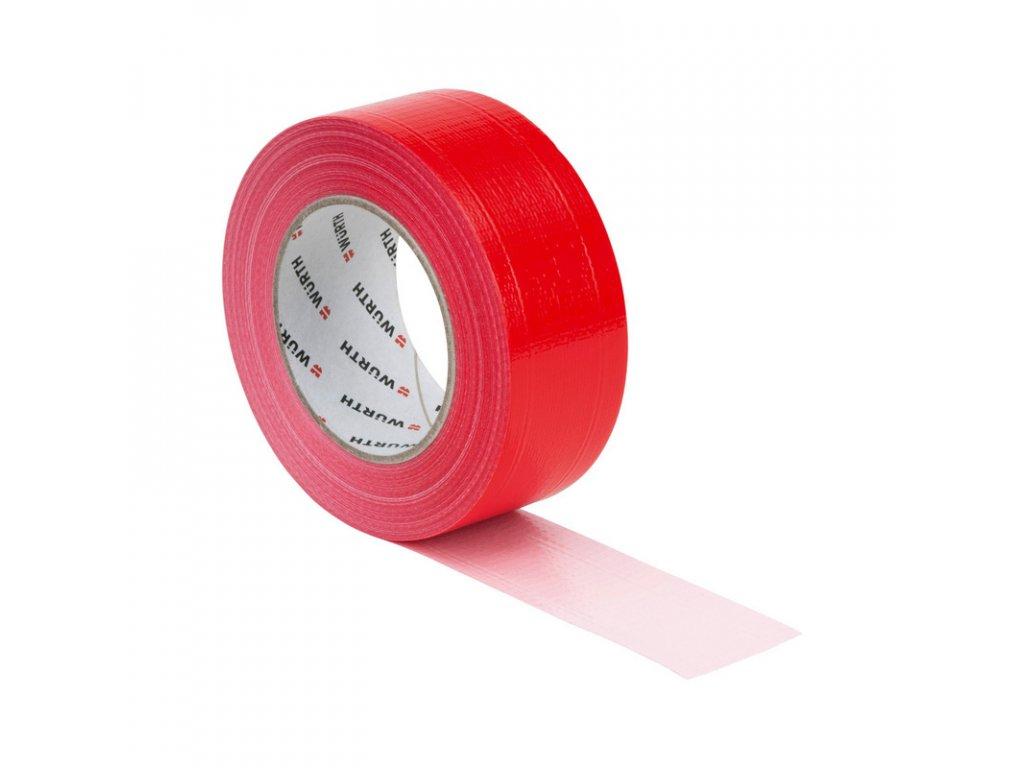 lepici-paska-z-polyesterove-tkaniny-50mmx50m-wurth-cervena