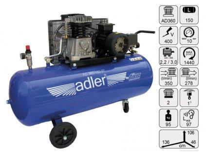 kompresor-pistovy-150-l-3kw-adler