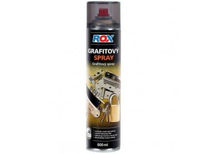 grafitovy olej sprej 600ml rox