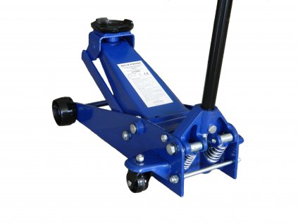 Pojizdný hydraulický zvedák s dvojitou pumpou 3t (145-520mm)