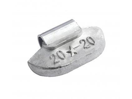 Závaží vyvažovací pro ocelové ráfky FIVESTAR 20g, 100ks