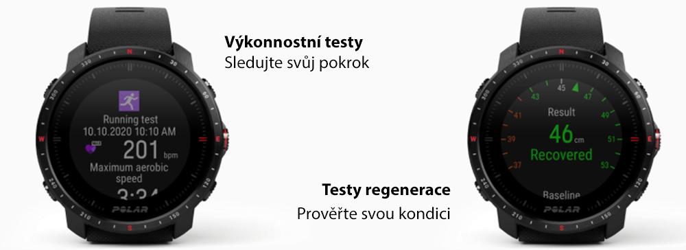 Výkonnostní testy   Testy regenerace