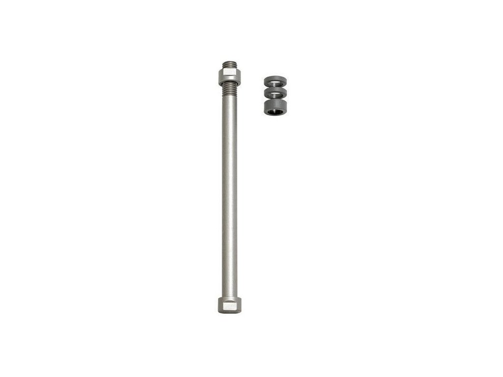 Tacx E-Thru axle skewer T1710; 12 mm x 1.5 rear wheel