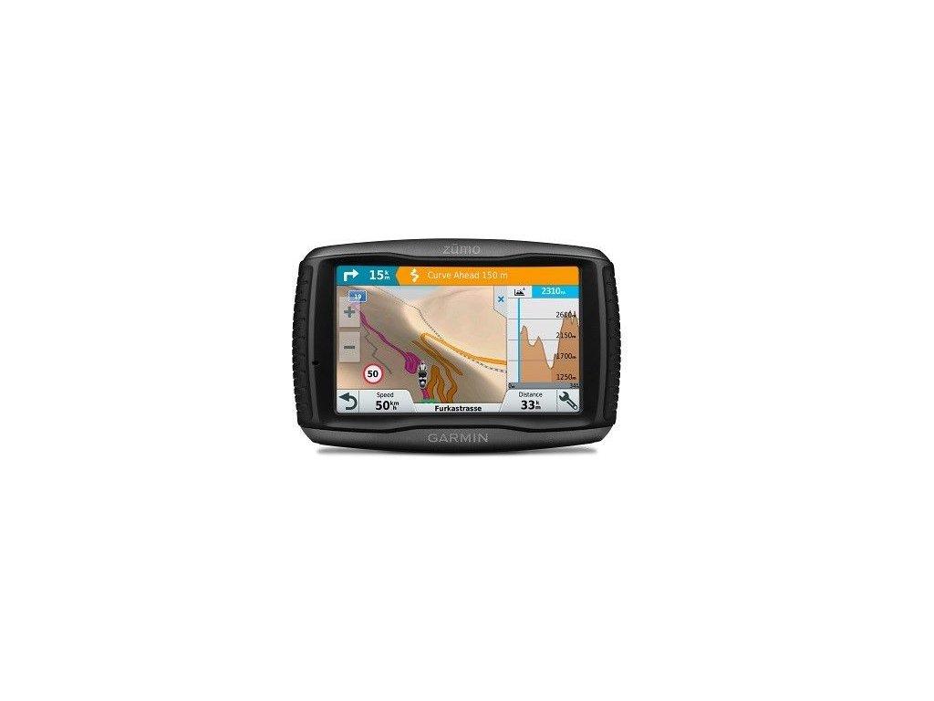 Garmin zumo 595 Lifetime Europe45 Travel  Produkt z CZ distribuce s ovládáním v ČJ + tvrzené sklo na displej ZDARMA
