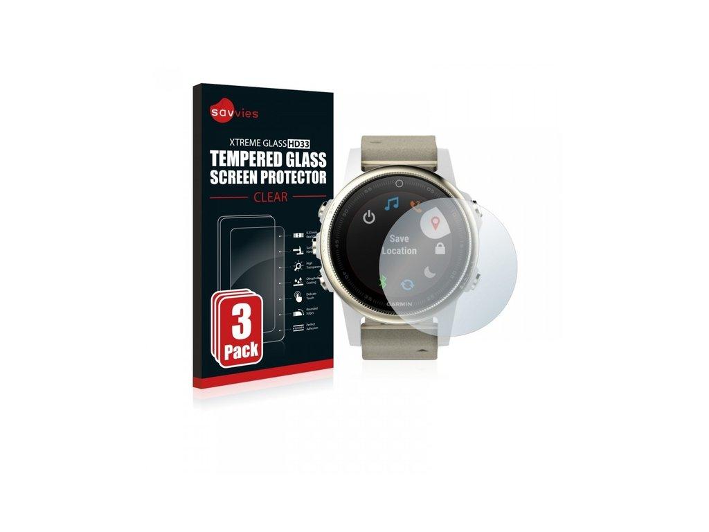 Ochranné sklo 3 ks pro Garmin Fenix 5S