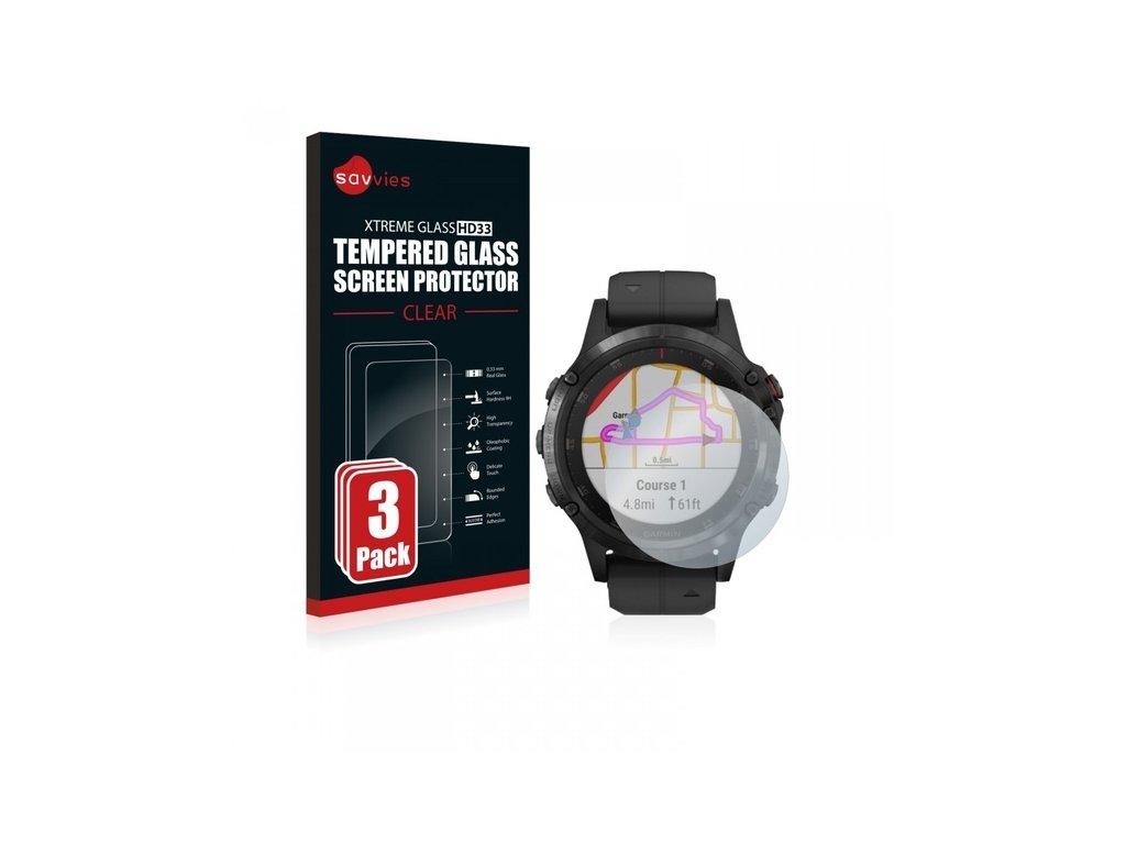 Ochranné sklo 3 ks pro Garmin Fenix5 Plus