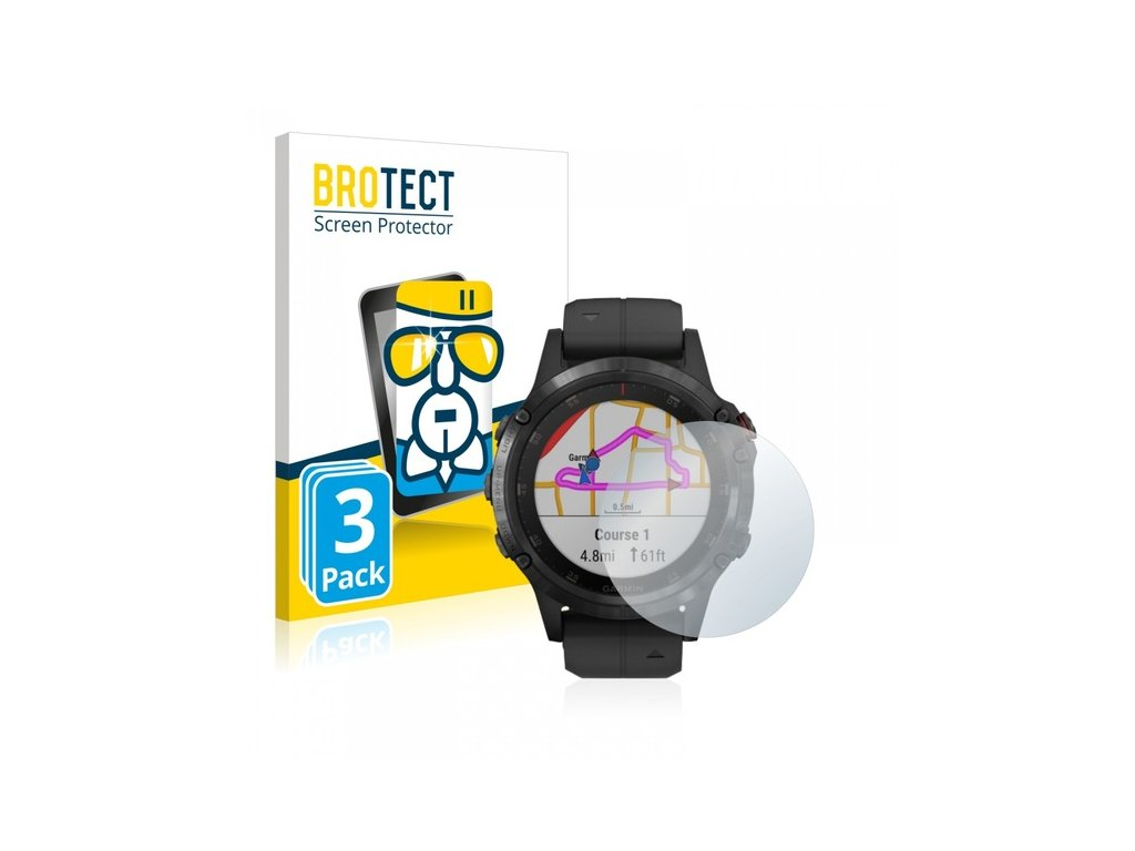 Ochranné tenké sklo pro Garmin Fenix5 Plus 3ks