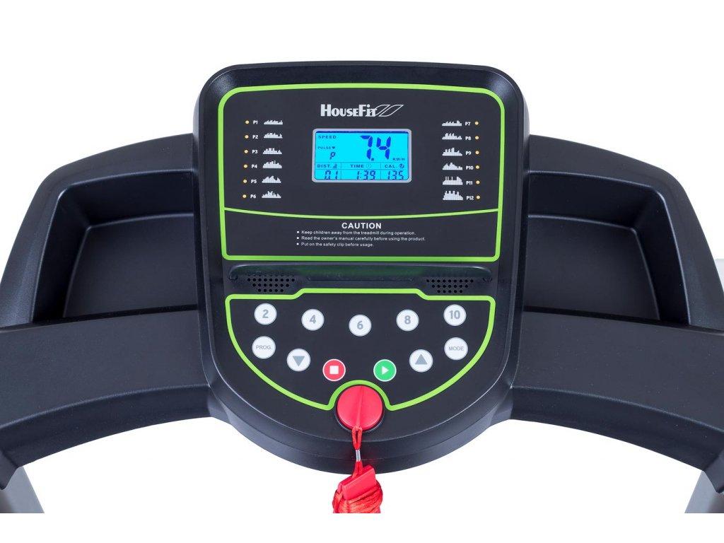 Běžecký pás HOUSEFIT TEMPO 10  + Servis u zákazníka a prodloužená záruka + Spalovač tuku ZDARMA