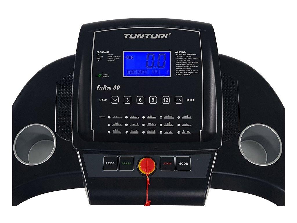 Běžecký pás TUNTURI Fitrun 30  + Servis u zákazníka a prodloužená záruka + Podložka pod trenažer ZDARMA