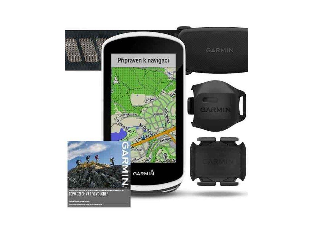 Garmin Edge 1030 PRO Sensor Bundle  Produkt z CZ distribuce s ovládáním v ČJ + tvrzené sklo na displej ZDARMA