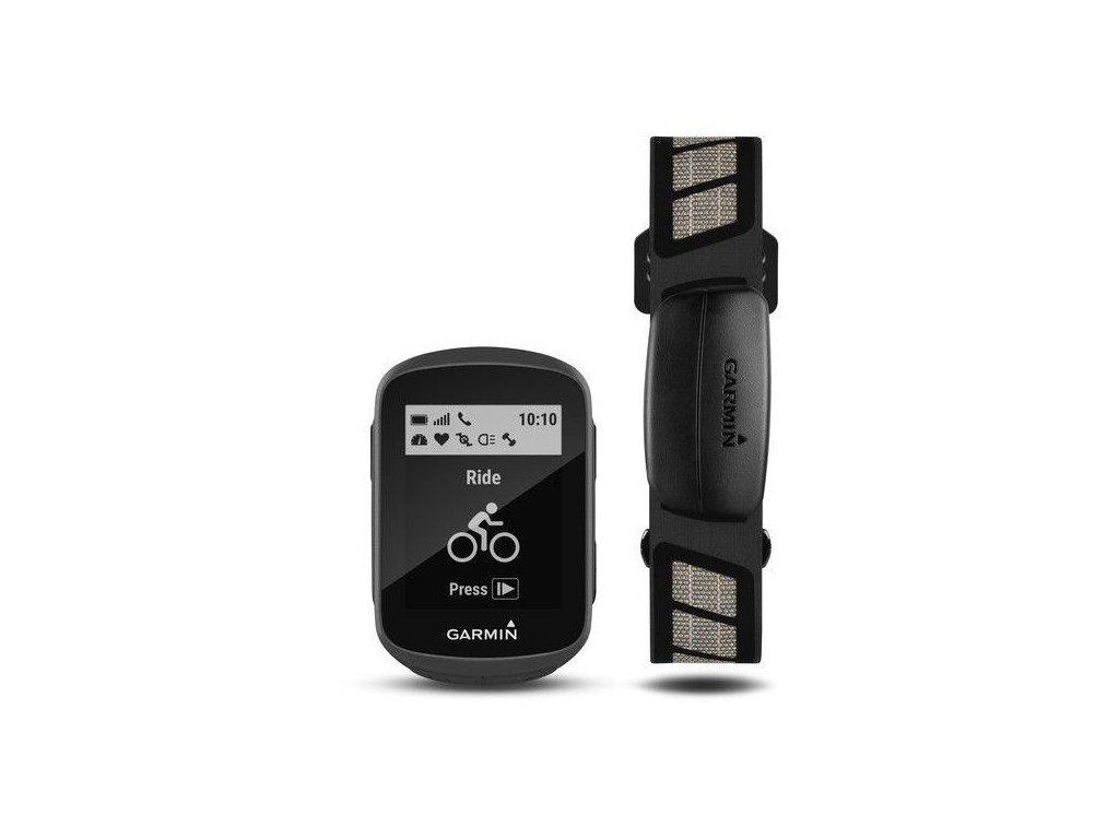 Garmin Edge 130 HR Premium  Produkt z CZ distribuce s ovládáním v ČJ + tvrzené sklo na displej ZDARMA