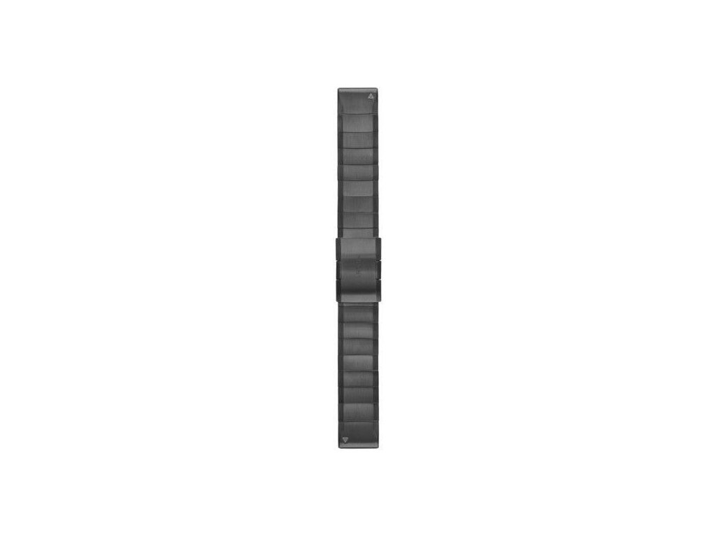 Řemínek pro fenix5/Quatix5/Forerunner 935 - QuickFit 22, ocelový, šedý