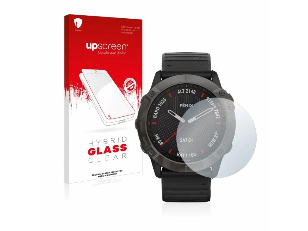 Hybridní ochranné sklo 9H pro Garmin Fenix 6X