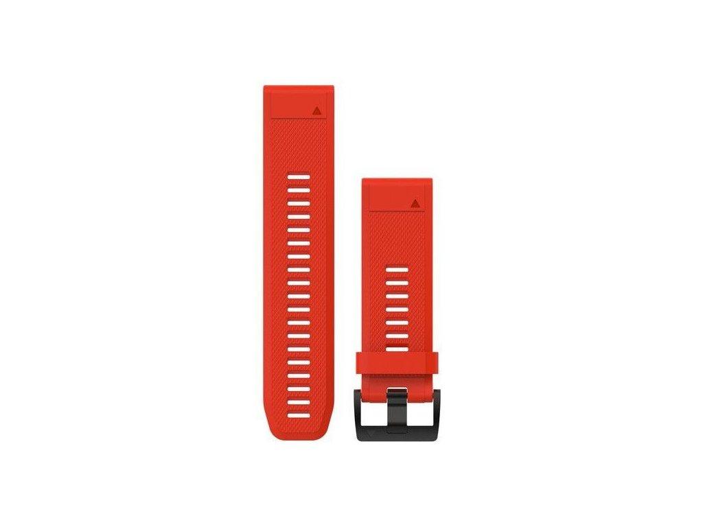 Řemínek pro fenix5X - QuickFit 26, červený