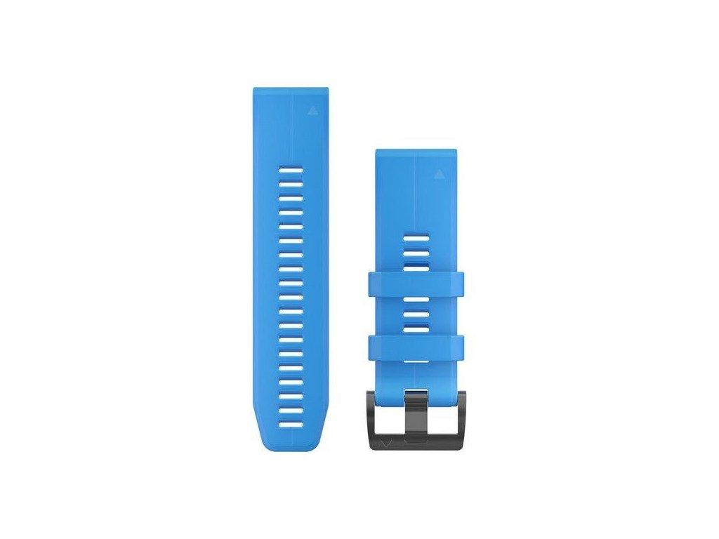 Řemínek pro fenix5X Plus - QuickFit 26, modrý
