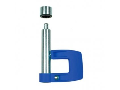 Tacx fixační páka - Frame fixation lever, dark blue