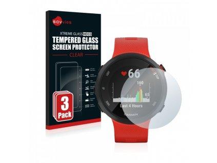Ochranné sklo 3 ks pro Garmin Forerunner 45