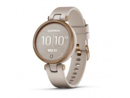 Garmin Lily Sport Rose Gold/Light Sand Silicone Band