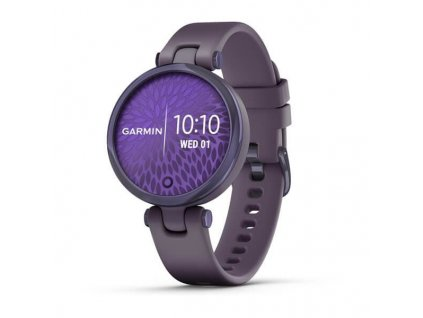 Garmin Lily Sport Midnight Orchid/Orchid Silicone Band