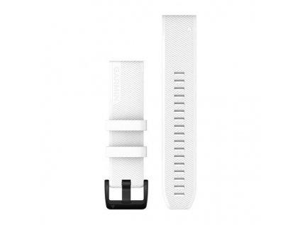 Řemínek QuickFit 22, silikonový, bílý