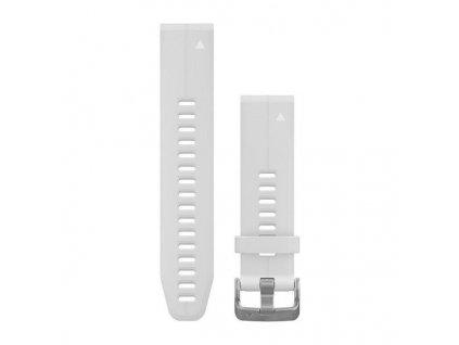 Řemínek QuickFit 20, silikonový, bílý