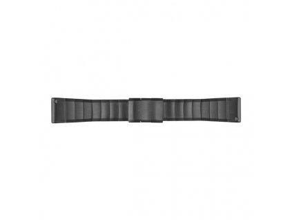 Řemínek pro fenix5X - QuickFit 26, ocelový, šedý
