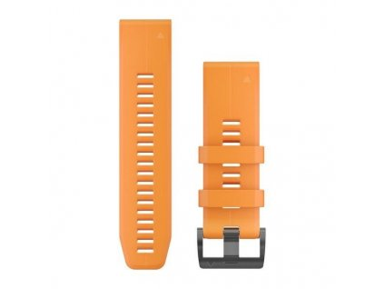 Řemínek pro fenix5X Plus - QuickFit 26, oranžový