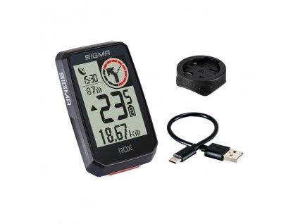 GPS Cyklopočítač SIGMA ROX 2.0 - černý
