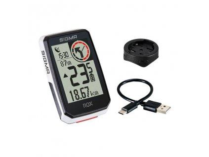 GPS Cyklopočítač SIGMA ROX 2.0 - bílý