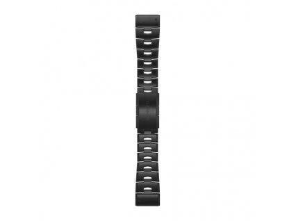 Řemínek pro fenix6X - QuickFit 26, titanový DLC, tmavý