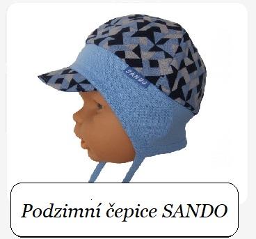 Podzimní čepice Sando