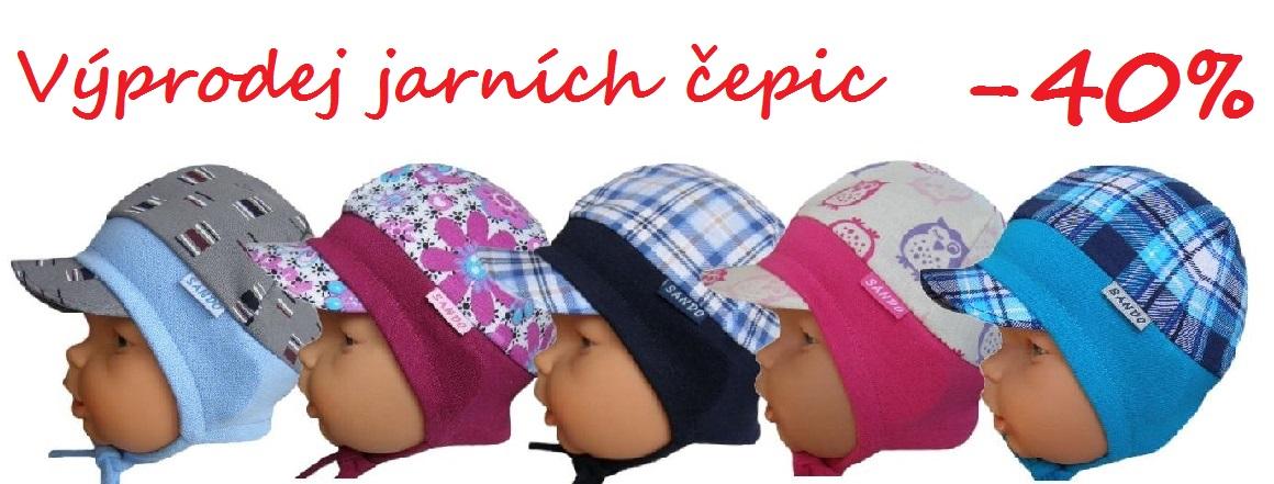 Výprodej jarních čepic Sando