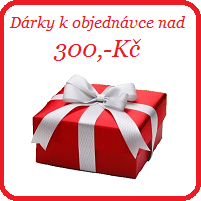 Dárek k objednávce nad 300,-Kč