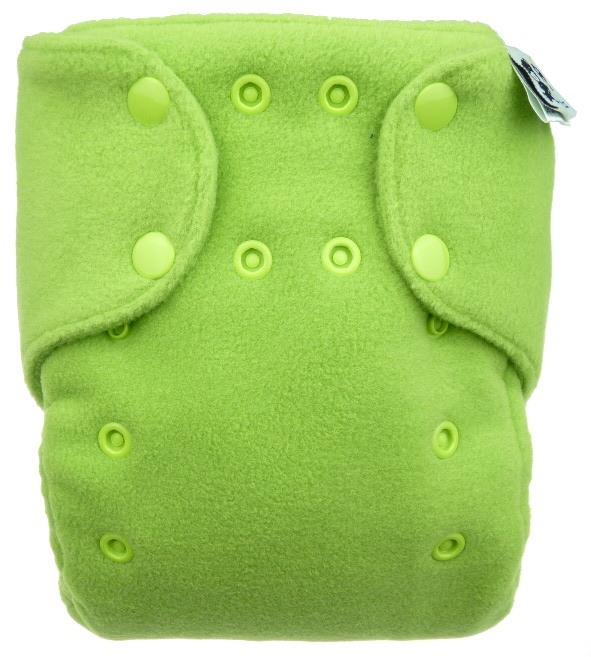 Novorozenecké flísové svrchní kalhotky na patentky