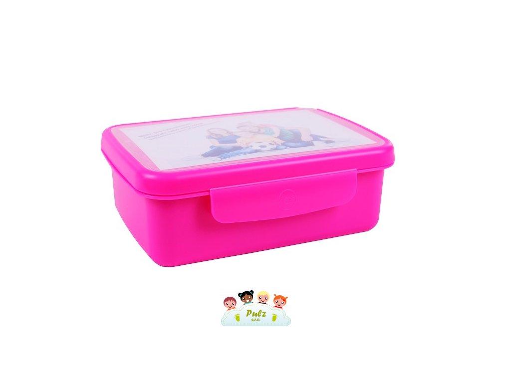 zdrava svaca komplet box fluo fialova 807