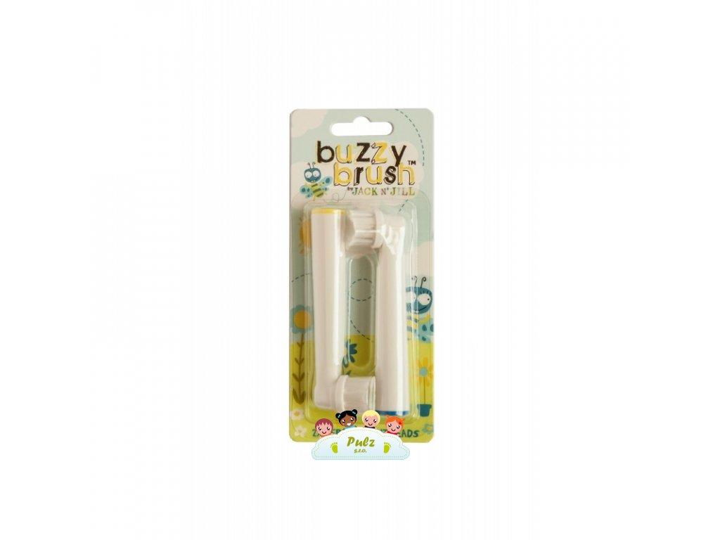 Náhradní hlavice na elektrický zubní kartáček BUZZY BRUSH