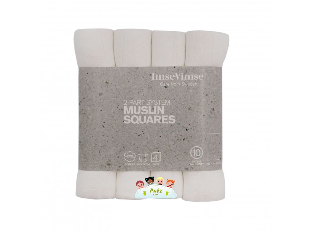 MUSLIN SQUARES small