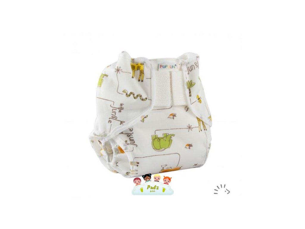 Popolini novorozenecké svrchní kalhotky PopoWrap Jungle vel.S