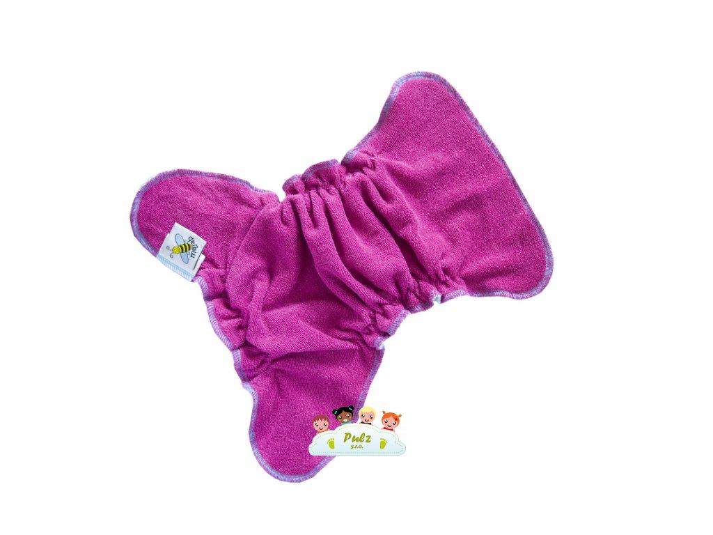1272 novorozenecka kalhotkova plenka na snappi ostruzina tyrkys