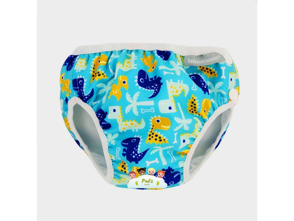 NEW swim diaper turquoise dino grey WEB01