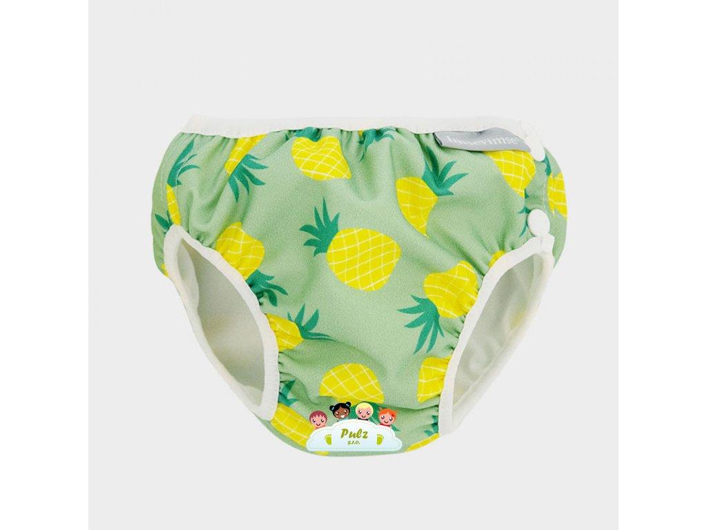 NEW swim diaper pineapple greyWEB
