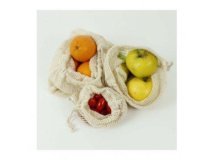 organic cotton mesh produce bag variety pack set of 3