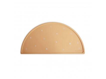 Mushie silikonove prestieranie Sun Orange