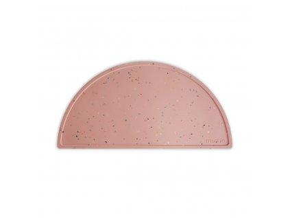 Mushie silikonove prestieranie Pink Confetti