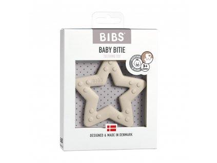 BIBS Baby Bitie Hryzatko Kousatko Star Ivory Balenie