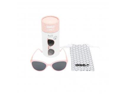 Slnecne okuliare KiETLA 4 6r BUZZ NEON4 6r BUZZ PINK GLITTER obsah balenia