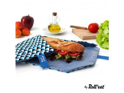 bocnroll tiles blue sandwich rolleat