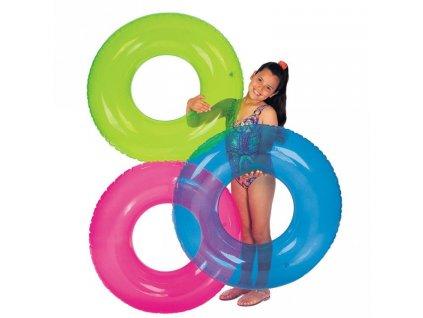 Kruh plavecký INTEX 59260 transparent typ: Zelený