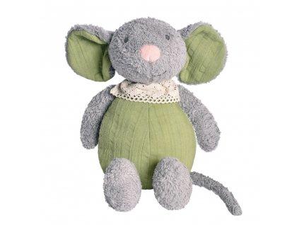 Tikiri Organics zvieratko z BIO bavlny myska