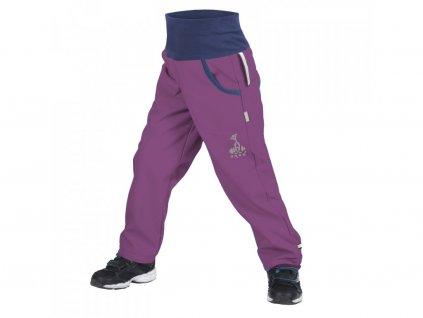 16596 unuo detske softshellove kalhoty s fleecem ostruzinova